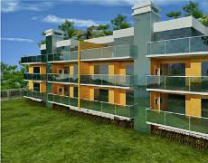 Apartamento na Praia de Quatro Ilhas